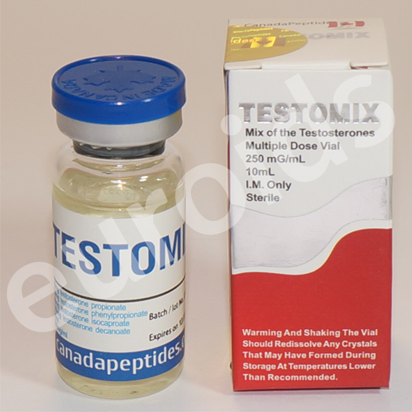 testosterone decanoate, testosterone isocaproate, testosterone phenylpropionate, testosterone propionate